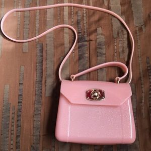 baby pink jelly bag